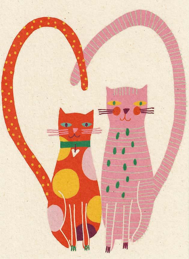 zintenz, kat, kaart, hart