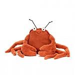 jellycat, crispin crab, krab, knuffel