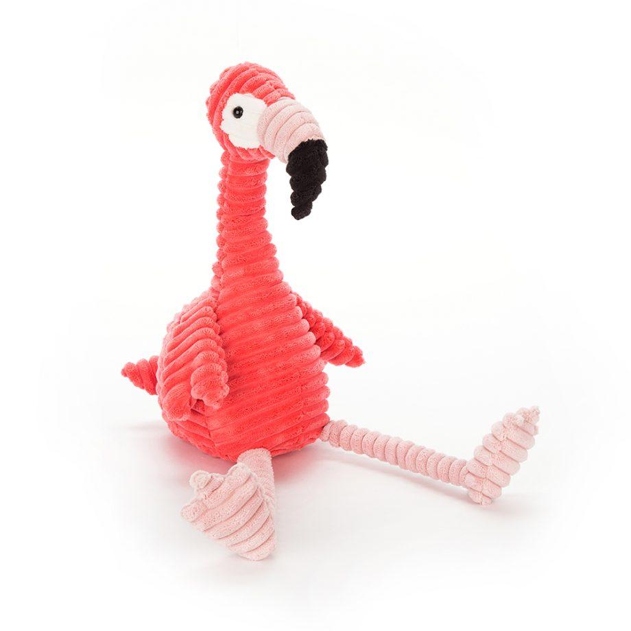 jellycat, flamingo, cordy roy, knuffel