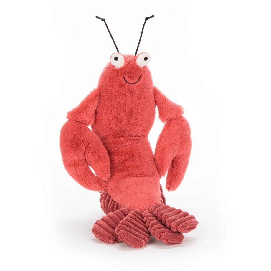 jellycat, larry lobster, kreeft, knuffel