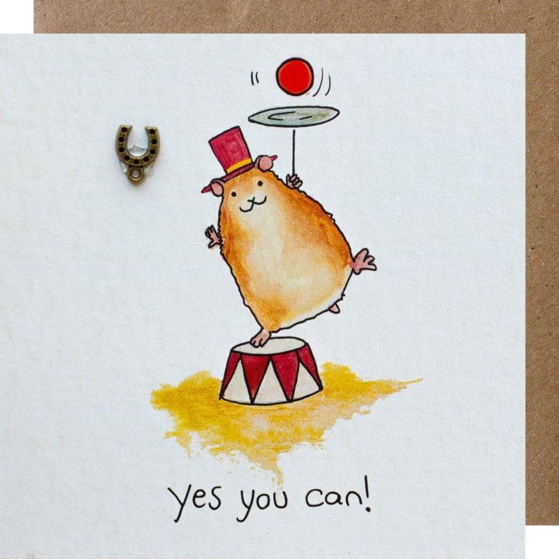 kaart, yes you can, sidedish