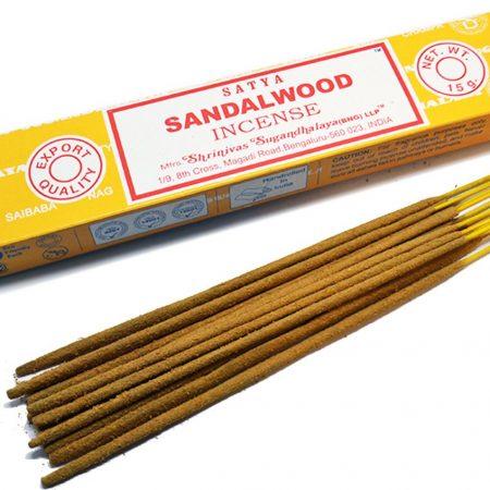 nag champa, sandalwood, wierook, satya