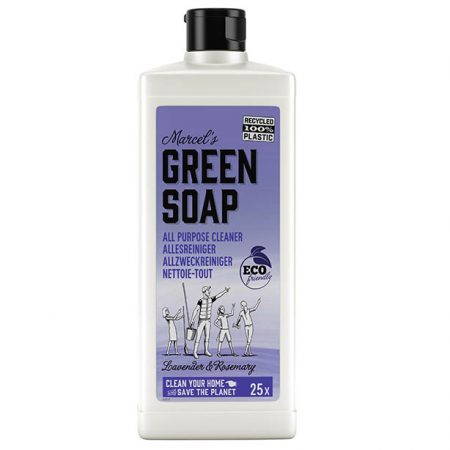 marcels green soap, allesreiniger, lavendel, rozemarijn, eco