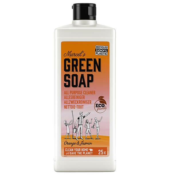 marcels green soap, allesreiniger, sinaasappel, jasmijn, eco
