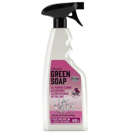 marcels green soap, allesreiniger, spray, patchouli, cranberry, eco