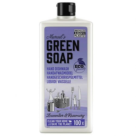 marcels green soap, afwasmiddel, dishwash, lavendel, rozemarijn, eco