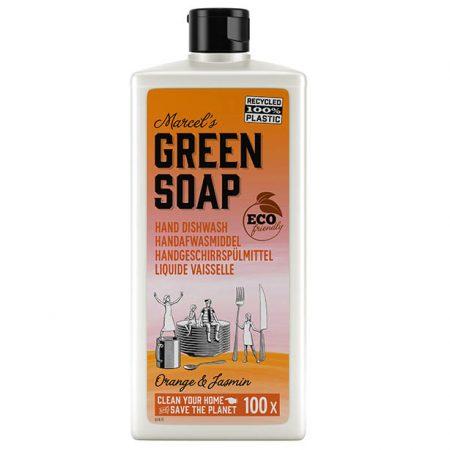 Marcels GReen Soap, afwasmiddel, sinaasappel, jasmijn