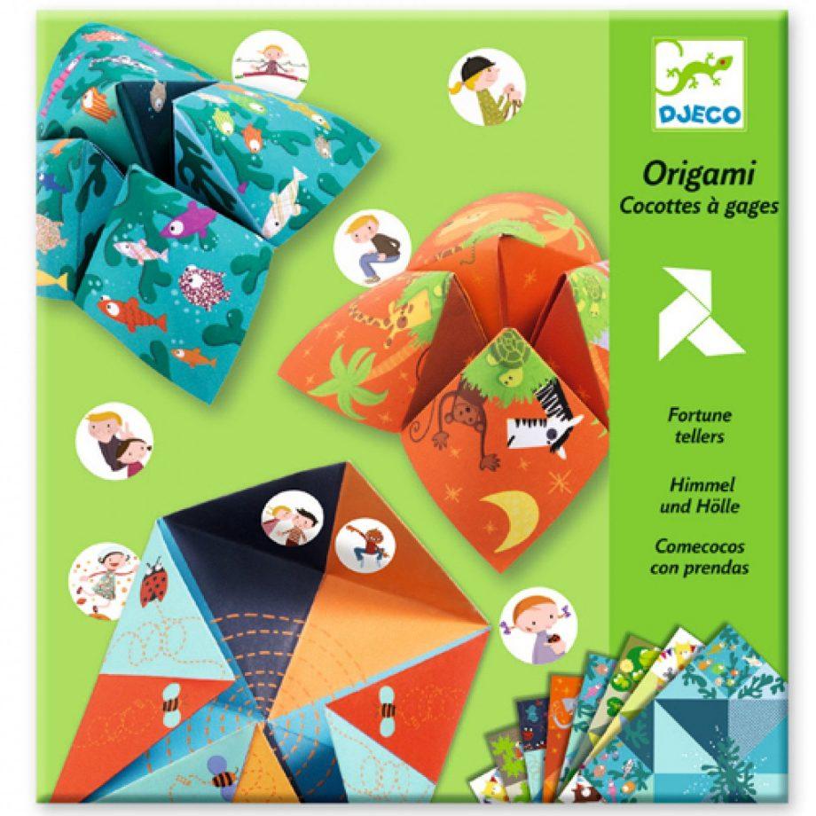 djeco, knutsel, origami, fortuneteller