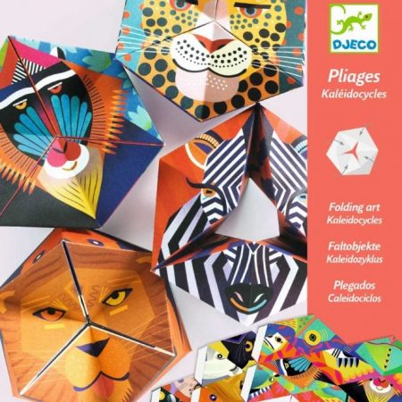 djeco, origami, knutsel, animals