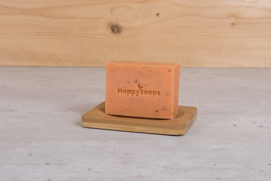 happysoaps, body bar, argan, rozemarijn, plasticvrij