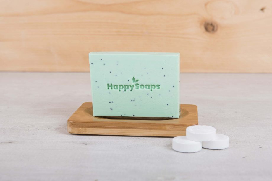 happysoaps, bodybar, tea tree, pepermunt