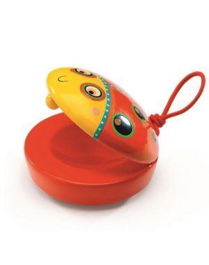 djeco, castagnette, lieveheersbeest, muziekinstrument, speelgoed