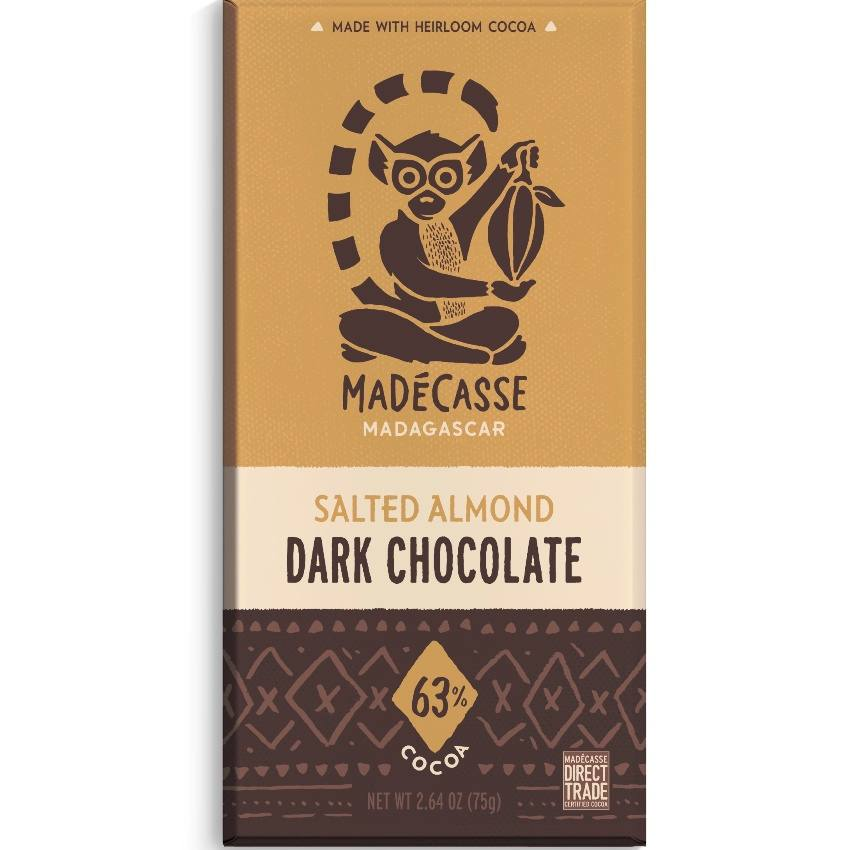 madecasse, beyond good, salted almond, amandel, fair trade, from bean to bar, chocolade