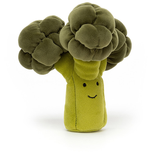 jellycat, vivacious vegetables, broccoli, knuffel