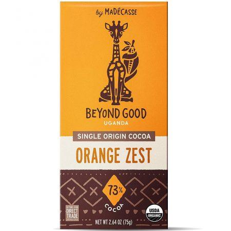Chocolade, Chocolat, Beyond Good, Fair Trade, from bean to bar, orange zest, Madecasse