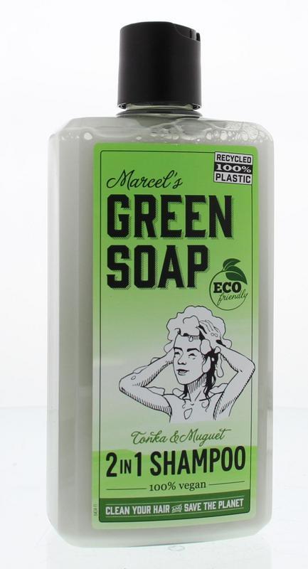 marcels green soap, tonka, muguet, lelietjes van dalen, -in-1, vegan