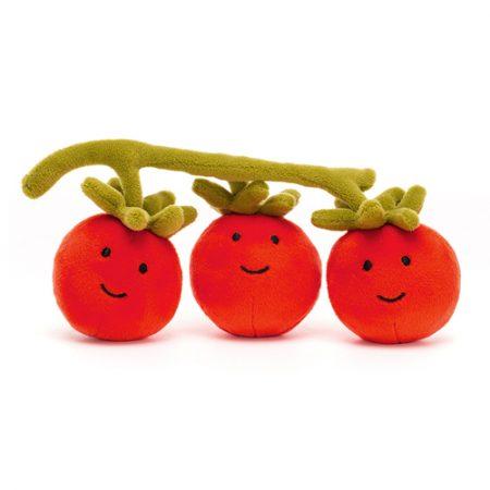 jellycat, vivacious vegetables, tomato, trostomaatjes, knuffel