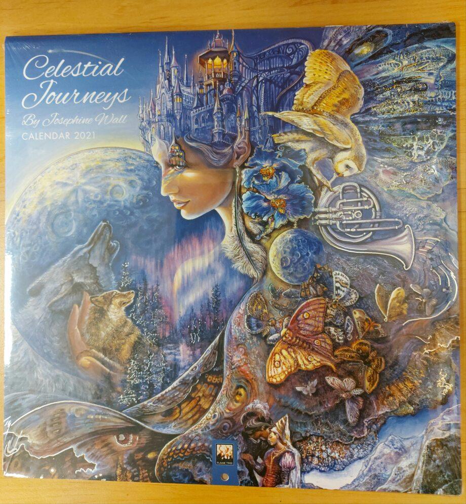 kalender, celestial journeys, 2021