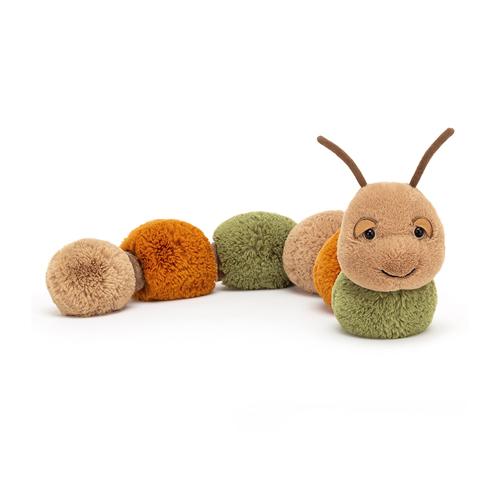 jellycat, figgy, caterpillar, rups, knuffel