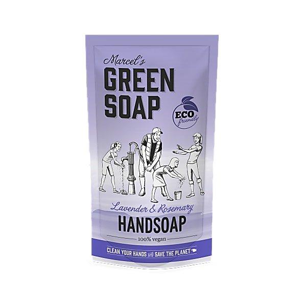 marcels green soap, refill, navulling, stazak, lavendel, rozemarijn, 500ml