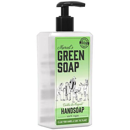 marcels green soap, handzeep, tonka, muguet, 500ml