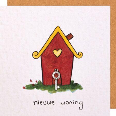 kaart, sidedish, nieuwe woning, verhuizing, sleutel