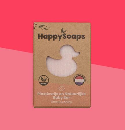 Happy soaps, baby, shampoo, body, little sunshine